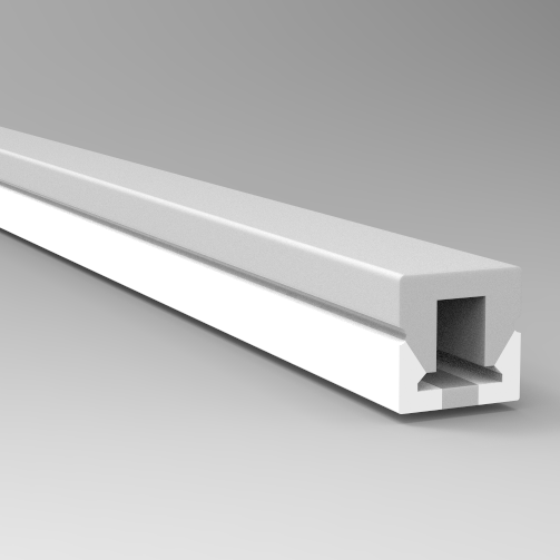 LN1010B Bendable SIlicone led extrusions