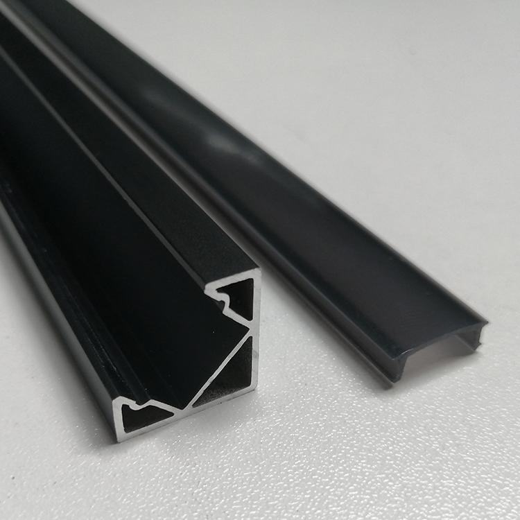 SJ-ALP1919F LED Aluminum Profile with black cover
