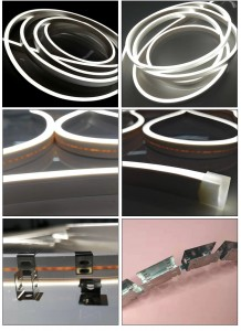 LN1018 Bendable SIlicone led extrusions