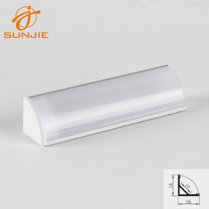 SJ-ALP1616 Aluminum corner profile
