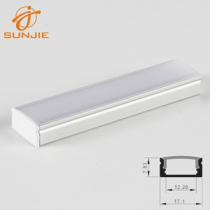 SJ-ALP1708 Most Popular Surface mounted led aluminum profile
