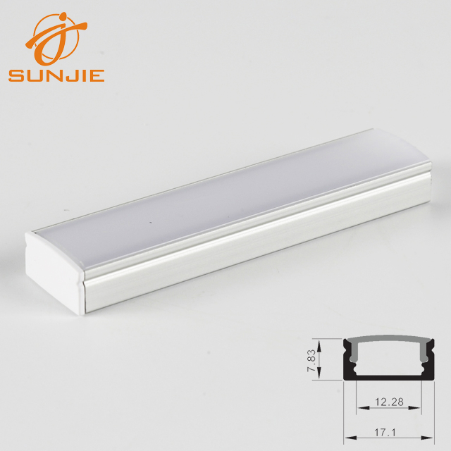 SJ-ALP1708 Most Popular Surface mounted led aluminum profile Featured Image