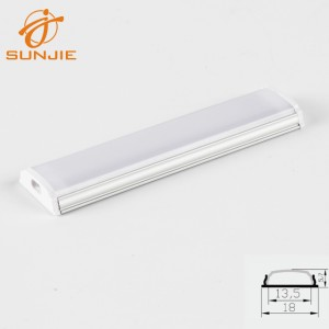 Acrylic Led Strip Light Clear Diffuser,Alu Profile With Connectors