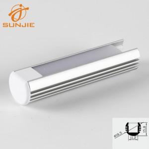 SJ-ALP1818 LED Aluminum Round Channel