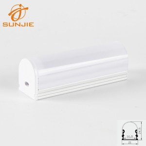 SJ-ALP2114B LED Profile with round cover