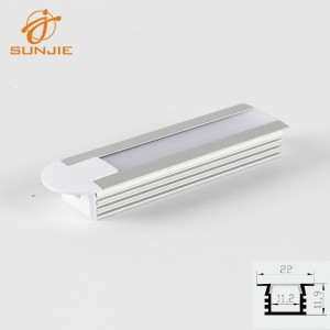 SJ-ALP2212 Aluminum led profile