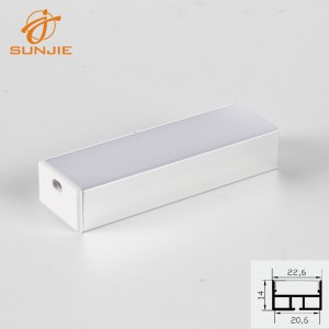New Delivery for New Corner Led Strip Aluminum Profile -