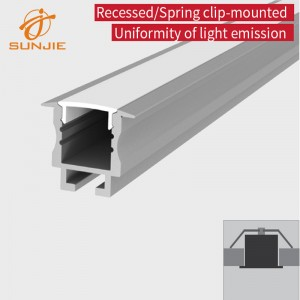 SJ-ALP2520 Aluminum led profile
