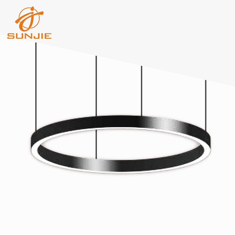 DIY Circular Aluminum LED Profile for Suspended Mounted Featured Image