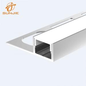 SJ-ALP3311 Aluminum led profile for 10mm Tile or Ceramic